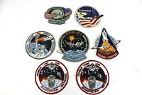 Vintage NASA Space Shuttle Patches Columbia Challenger Spacelab 2 Lot of 7