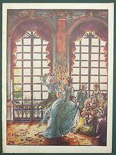 PROGRAMME DU THEATRE DU TRIANON LYRIQUE - 1925 - ILL. BOSCHER