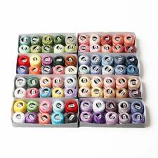Pearl Cotton Crochet Thread Mercerized Egyptian Craft Embroidery Needlework Cord
