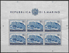 1951 San Marino BF UPU L200 MNH Sass n. 9
