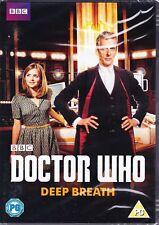 DOCTOR WHO: DEEP BREATH DVD (2014) BRAND NEW & SEALED UK PAL REG 2 PETER CAPALDI