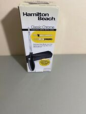 Hamilton Beach Classic Chrome Electric Knife With Case Ek08 - New Opened Box