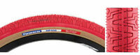 Panaracer HP406 BMX Tire Gumwall Red NOS Old School For Hutch GT Haro US Charity
