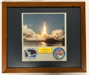 NASA Astronaut Readdy Space Shuttle Discovery STS-42 NAMED Plaque Patches Photo