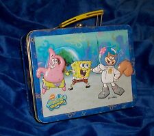 SPONGEBOB SQUAREPANTS Vintage Lunch Box  -REAL NICE Collectible