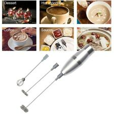 Electric Milk Frother Spring Whisk Head Drink Foamer Mixer Stirrer Latte YZH