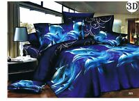 3D Images Bedding Set (205) Duvet Set 1 Quilt Cover 1 Fitted Sheet 2 Pillow case