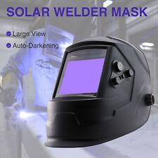 Super Large View Solar Powered Auto darkening ARC True Color Welding Helmet PP