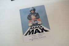 MAD MAX - Glossy Steelbook Magnet Cover (NOT LENTICULAR)