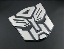 1pc Transformers Autobot 3D Logo Emblem Badge Graphics Decal Car Sticker Decal