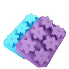Soap Molds Chocolate Ice Tray Cake Christmas Mould Pink Professional Party Gift