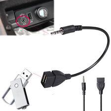 3.5mm Maschio Aux Audio Jack a USB 2.0 Cavo adattatore convertitore per auto MP3