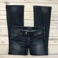 Silver Tuesday Jeans Size 30 Womens Bootcut Dark Wash Stretch Denim