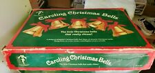 Ye Merrie Minstrel Caroling Christmas Bells Vintage 12 Bell Set
