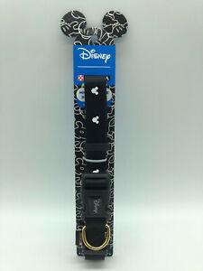 Purina Dog Collar Disney Mickey Mouse Large Dogs - Adjustable - Black Free Post