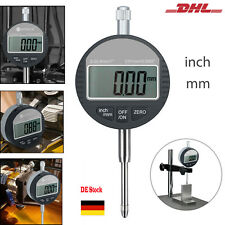 """Digitale Messuhr  0.01/0.0005"""" mm/inch Ablesung Dial indicator Dicken Messgerät"""