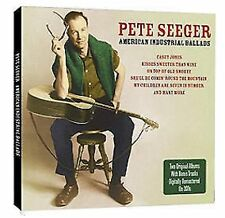 Pete Seeger American Industrial Ballads/Favourite Ballads 2-CD NEW SEALED