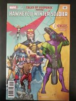 TALES of SUSPENSE #101b Hawkeye Winter Soldier (2018 MARVEL Comics) ~ VF/NM Book