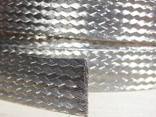 5 FEET 1/2 BRAIDED GROUND STRAP GROUNDING Tinned Copper Flat Braid MADE IN USA