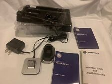 Motorola Motopure H12 Bluetooth Headset Chargers And Manuals