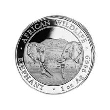 SOMALIE 100 Shillings Argent 1 Once Elephant 2020