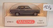 Wiking 1/87 Nr. 0790 03 Opel Kadett B Limousine grau OVP #1246