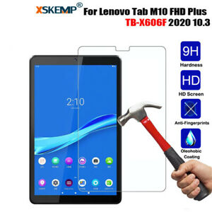 Tempered Glass Screen Protector Film For Lenovo Tab M10 FHD Plus TX-606 10.3 in