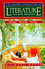 Bedford Introduction to Literature by Michael Meyer (1995, Hardcover)