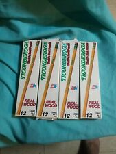 4 Boxes x 12 p. of Vintage Dixon Ticonderoga Pencils No. 2 Soft New Pencil