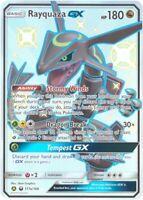 Pokemon Card - Celestial Storm 177a/168 - RAYQUAZA GX (alternate holo) (JUMBO)