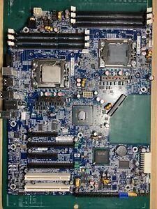HP Z600 Motherboard 461439-001 460840-002 + 1x E5540 CPU