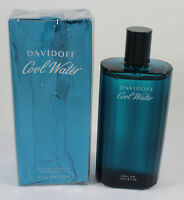 Cool Water By Davidoff 6.7 oz/200 ml EDT Spray New & Crushed Box For Men