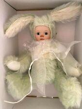 "Marie Osmond ""Bit-O-Bunny 5"" Mint Green Patty"" Mohair Bunny Mib"