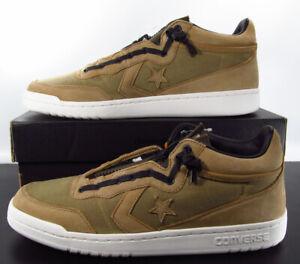 Converse Fastbreak Mid Zip Sneaker Thinsulate Brown Tan 159457C $150 11.5 Men