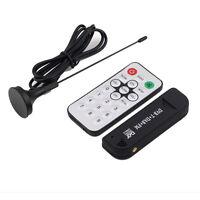 USB 2.0 Digital DVB-T SDR+DAB+FM HDTV TV Tuner Receiver Stick RTL2832U+R820T US