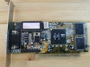 Rendition Verite V2200 8Mb PCI Video Card