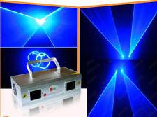 200mW double Blue Laser Stage Lighting Disco Xmas Home Party KTV DJ DMX512 lamp