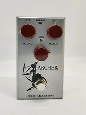More details for j rockett jrad silver archer klon style overdrive & boost fx pedal