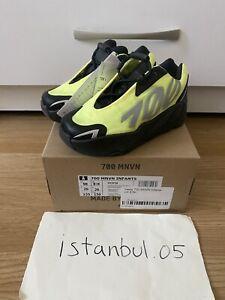 Adidas Yeezy 700 MNVN Phosphor INFANT UK8.5K/US9K **BRAND NEW DEADSTOCK** FY3728