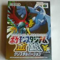 Pokemon Stadium Gold and Silver Crystal Version Compatible Nintendo 64 Japan Ver