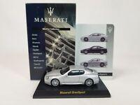 1:64 Kyosho Maserati Minicar Collection GranSport Coupe Coupé 4.2L V8 2004-2007
