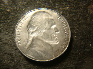 Error***  Incuse Double Mirror Brockage 1953 Jefferson Head Nickel