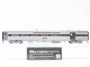 HO Walthers Proto 920-9480 ATSF Santa Fe 85' Baggage-Dormitory Passenger #3477