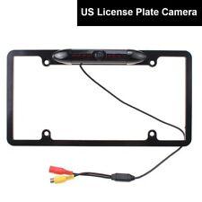 US Car License Plate Fix Rear View Backup Camera Universal HD IR Night Vision