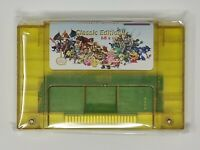Super 68 in 1 Nintendo SNES Game Cartridge 16-Bit Multicart NTSC Free Shipping