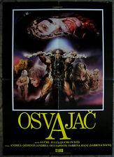 CONQUEST-LUCIO FULCI/JORGE RIVERO-RARE ORIGINAL YUGOSLAV MOVIE POSTER 1983
