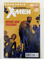 Wolverine and the X-Men 1 2nd Print Variant Regenesis Marvel Comics Direct 2011