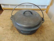 vintage cast iron dutch oven cookware pot gris wold    nice     /#  5745
