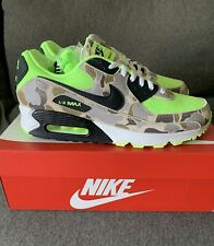 Nike Men's Air Max 90 Ghost Green Duck Camo Volt Atmos Running Shoes NIB Size 10