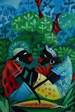 Original Art Painting Cuban Artist Cuba JANIER SANCHEZ 10